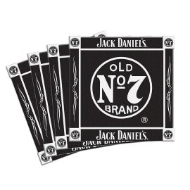 Jack Daniel Ceramic Coasters