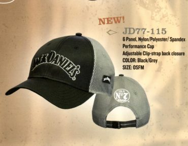 JD Old No 7 Black and Gray