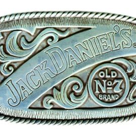Rectangle Western JD Buckle