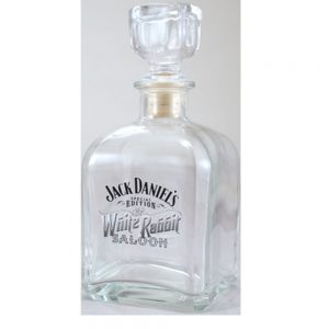 Jack Daniel's White Rabbit Saloon Decanter