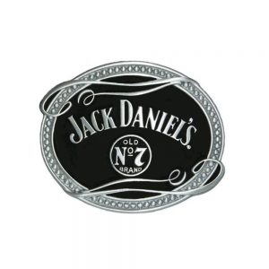 Jack Daniel's Oval Belt Buckle