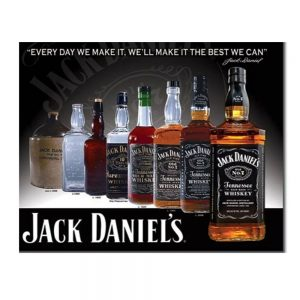 Jack Daniel's Bottle Sign