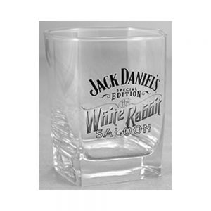 "Jack Daniel's ""White Rabbit"" Rocks Glass"