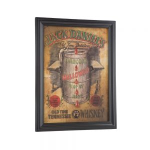 Jack Daniel's Charcoal Mellowed Pub Sign