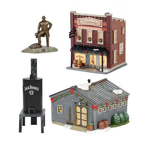 Jack Daniels Christmas Village