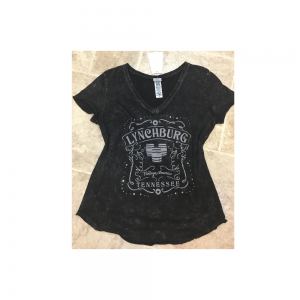 Ladies Lynchburg Rhinestone Shirt